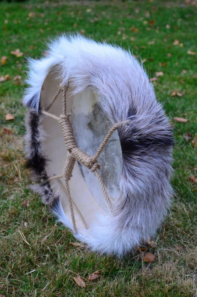 Šamanský bubon 30 – so srsťou